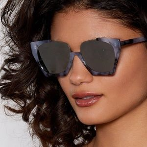 Nasty Gal Stand Up Oversized Shades